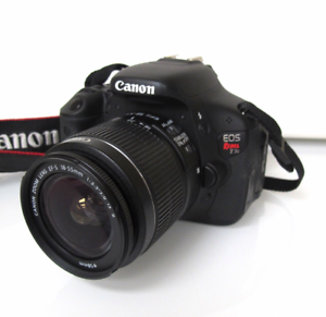 Details about Canon EOS Rebel T3i / EOS 600D 18.0MP Digital SLR Camera.