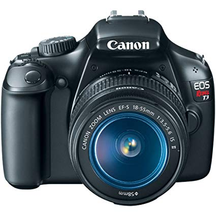 Canon EOS Rebel T3 Digital SLR Camera with EF.
