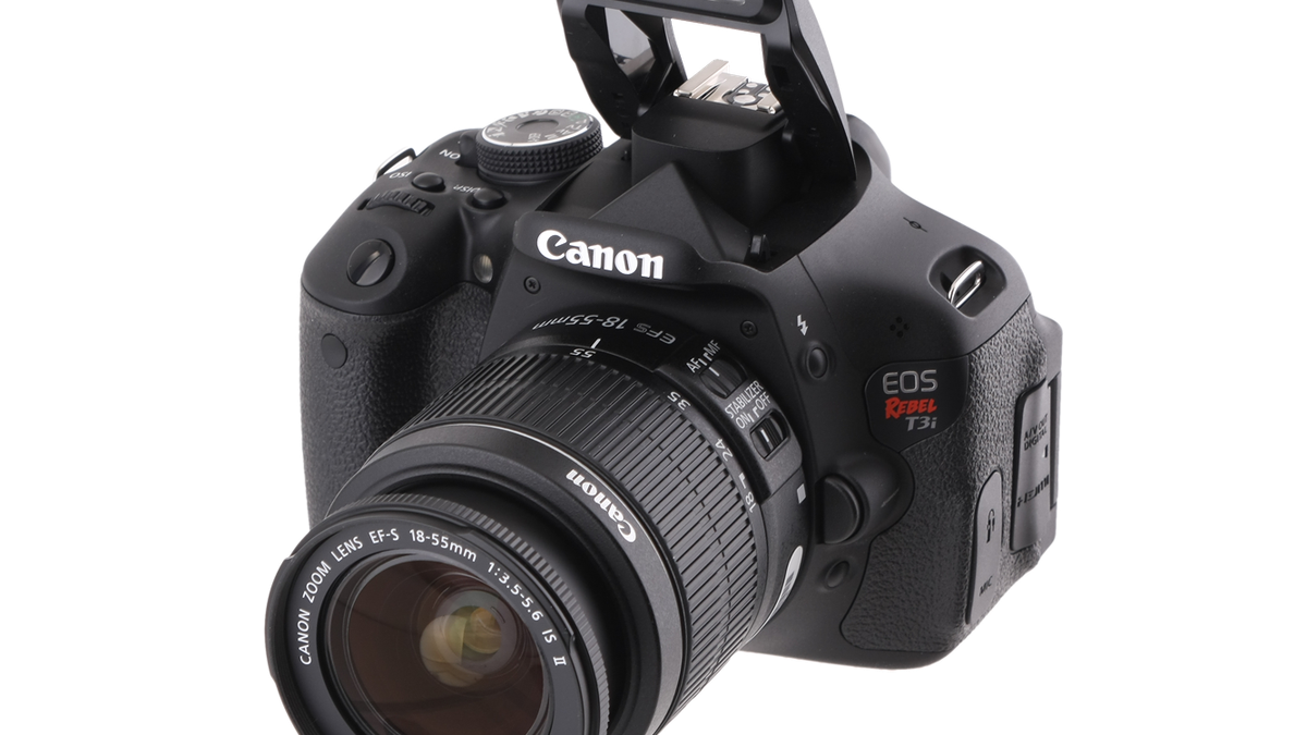 Canon EOS Rebel T3i review: Canon EOS Rebel T3i.