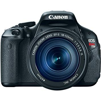 Canon EOS Rebel T3i Digital SLR Camera with EF.