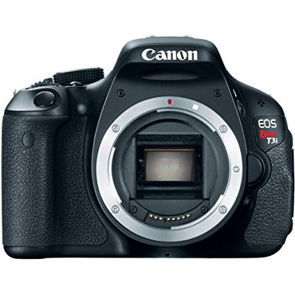 Canon EOS Rebel T3i Digital SLR Camera Body Only (discontinued by  manufacturer).