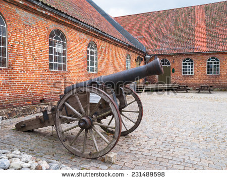 Norway Cannons Stock Photos, Royalty.