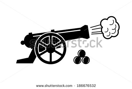 Civil War Cannon Stock Photos, Royalty.