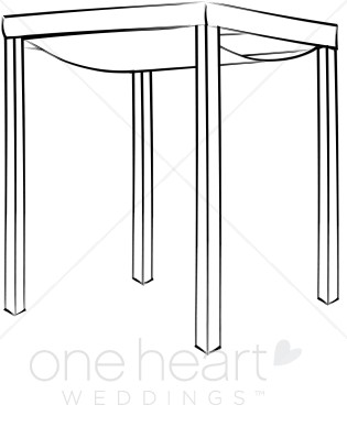 Canopy Clipart.