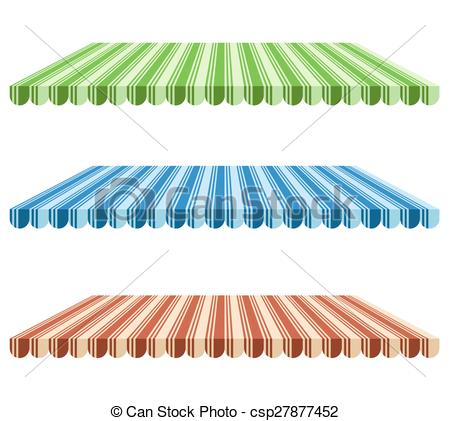 Clipart Vector of Canopy.