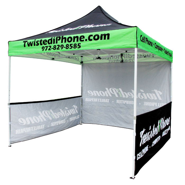 Custom Pop Up Tent China Printed Branded Canopy Manufacturer.