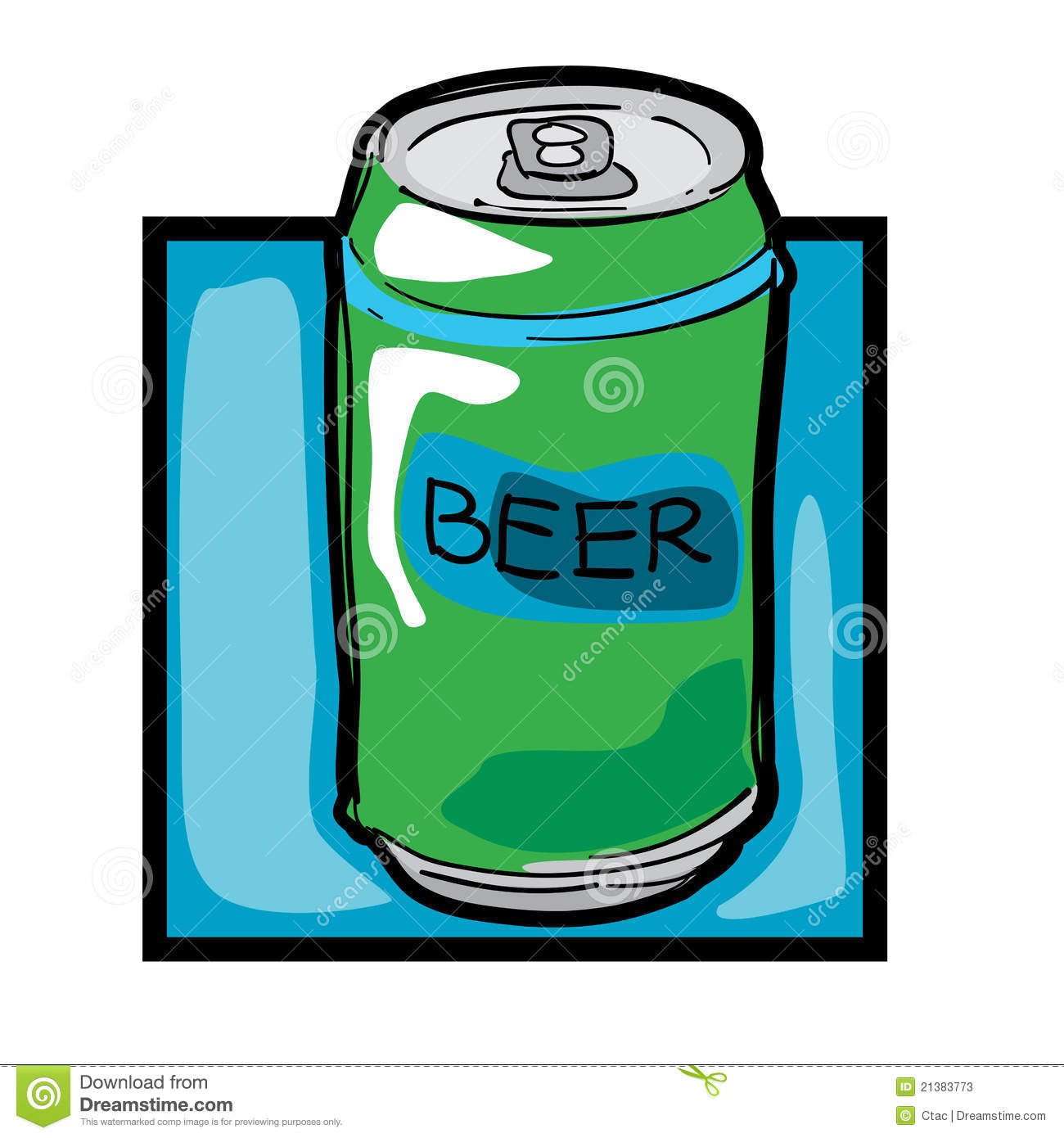 Clipart beer can.