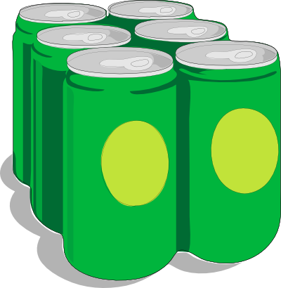 Soda Cans Clipart.