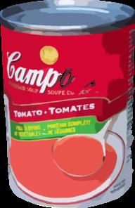 Soup Can Clip Art at Clker.com.