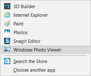 Fix: Windows 10 cannot open JPG files.