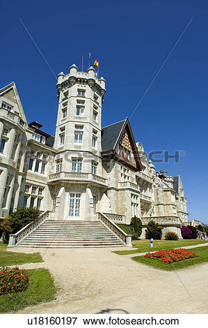 Picture of Spain, Cantabria, Santander, City, Town, Architecture.