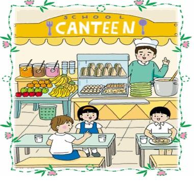 Canteen clipart.