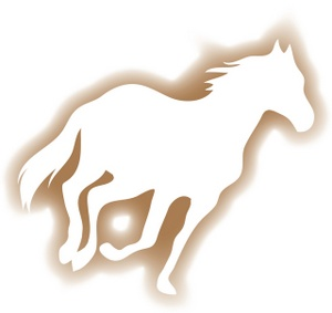 Canter Clipart Image.
