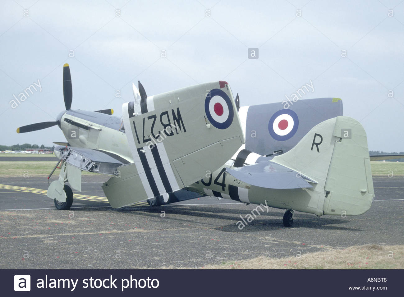Fairey Firefly Aircraft Low.