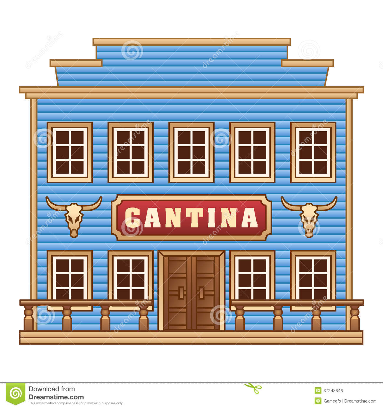 Cantina Stock Illustrations.