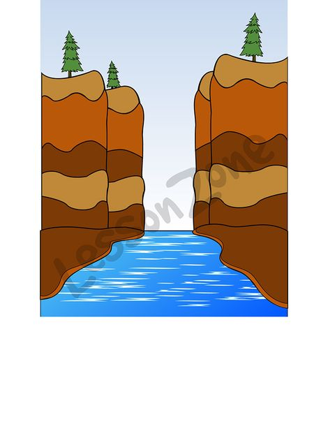 Canyon Clipart.
