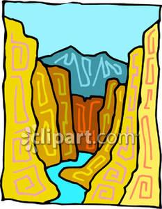 Clipart canyon.