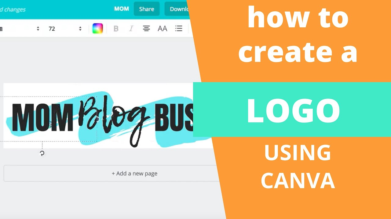 How to Create a Logo in Canva (For Free).