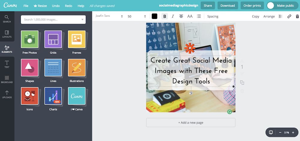 The 6 Best Free Design Tools to Create Social Media Graphics.