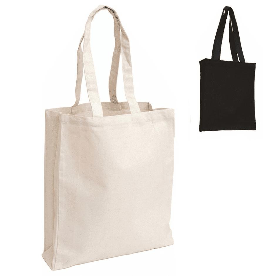 8oz Shopper Canvas Tote Bag.