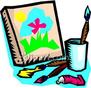 Canvas clip art.