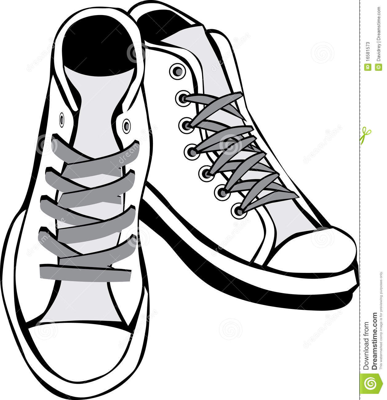 Converse Clipart Black And White.