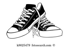 Canvas shoe Illustrations and Clipart. 159 canvas shoe royalty.