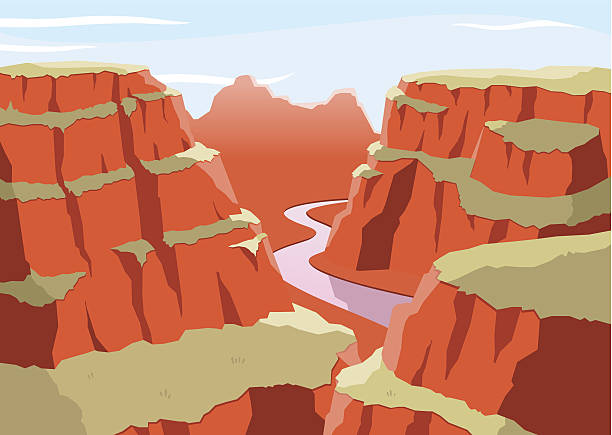 Best Grand Canyon Illustrations, Royalty.