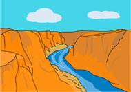 Canyon Clipart.