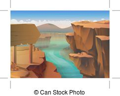 Canyon Illustrations and Clipart. 1,361 Canyon royalty free.