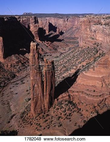 Pictures of Spider Rock, Canyon de Chelly, Arizona, USA 1782048.