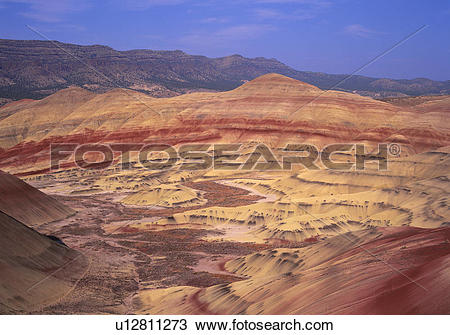 Stock Photo of Red Rock Canyon And Desert Landscape u12811273.