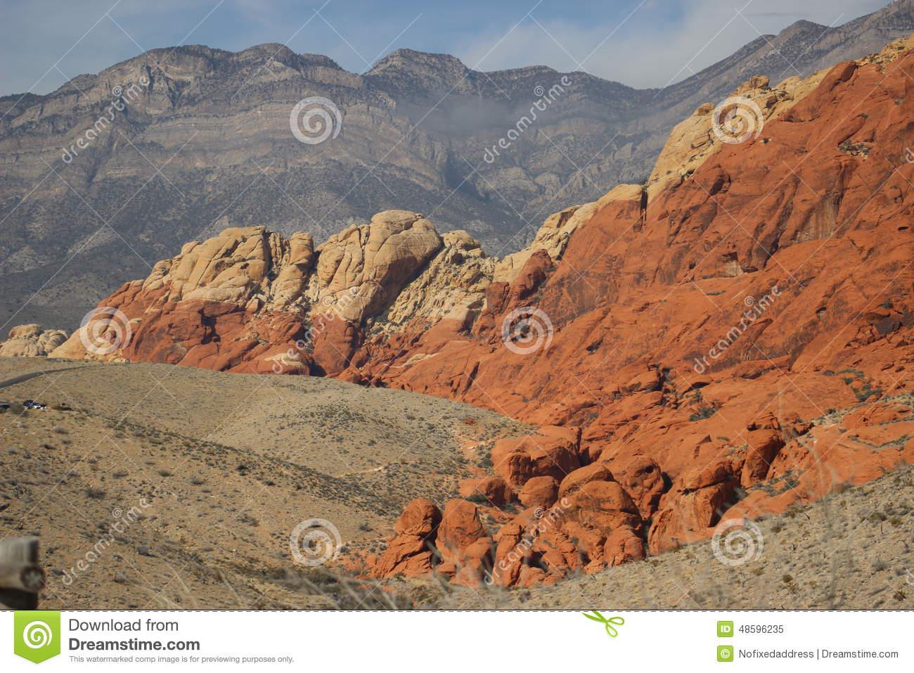 Canyon Landscape Clipart.