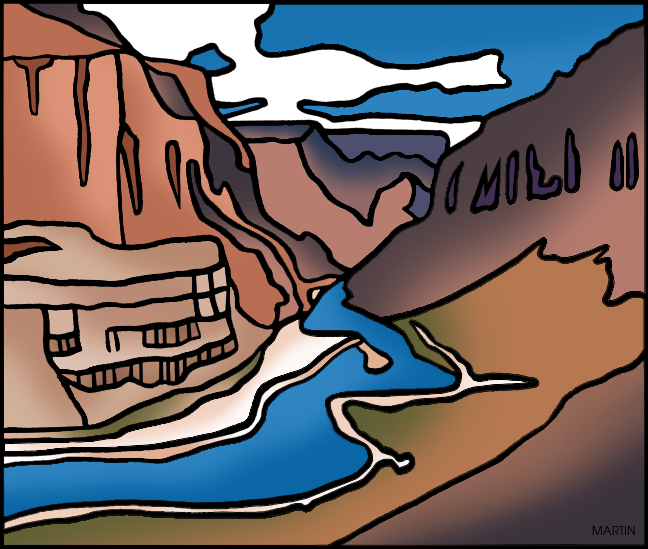 Grand Canyon Clip Art.