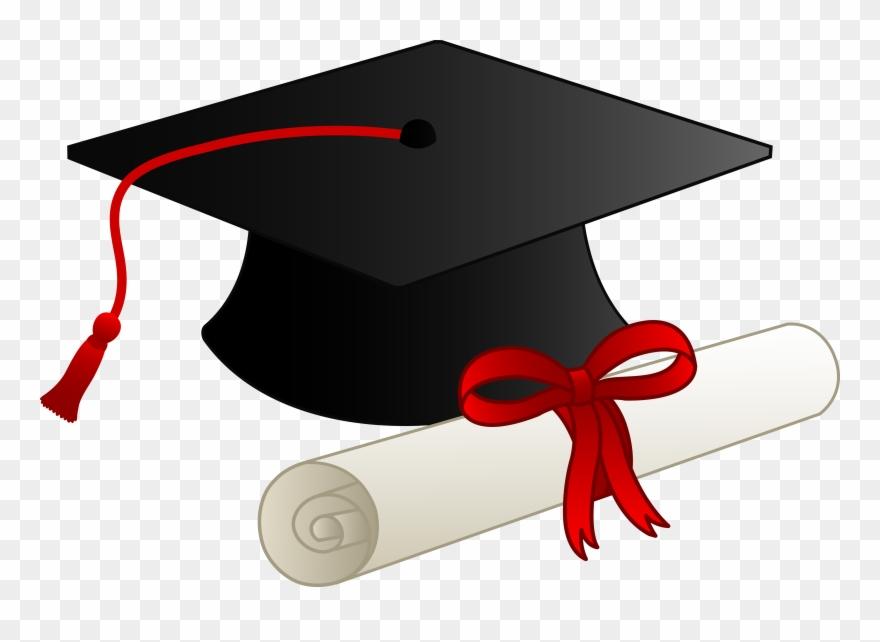 Gown Clipart High School Cap.