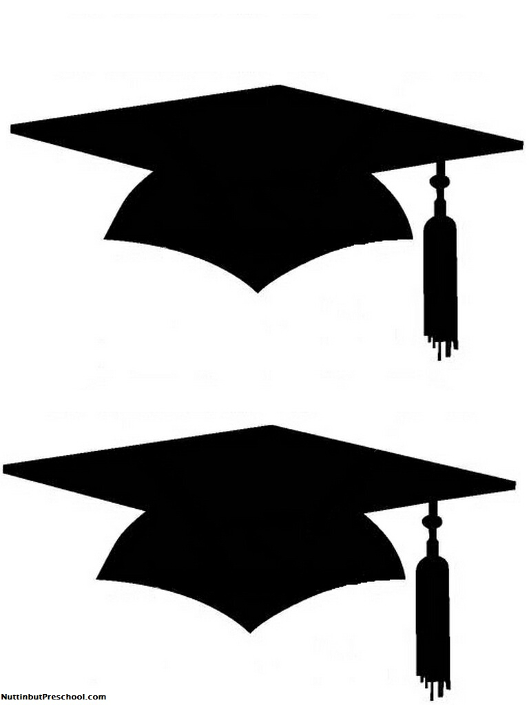 Cap And Gown Drawing.