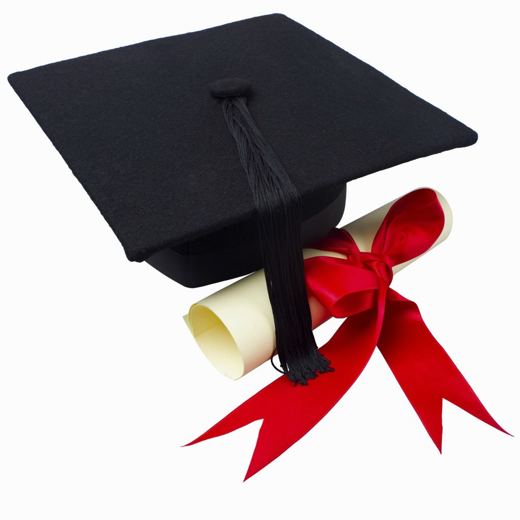 100+ Graduation Cap And Gown Clipart.