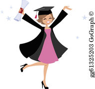 Graduation Gown Clip Art.