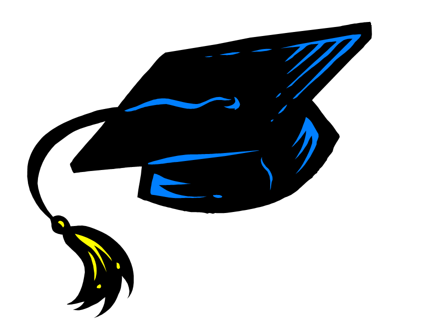 Graduation Cap And Gown Clipart 24.