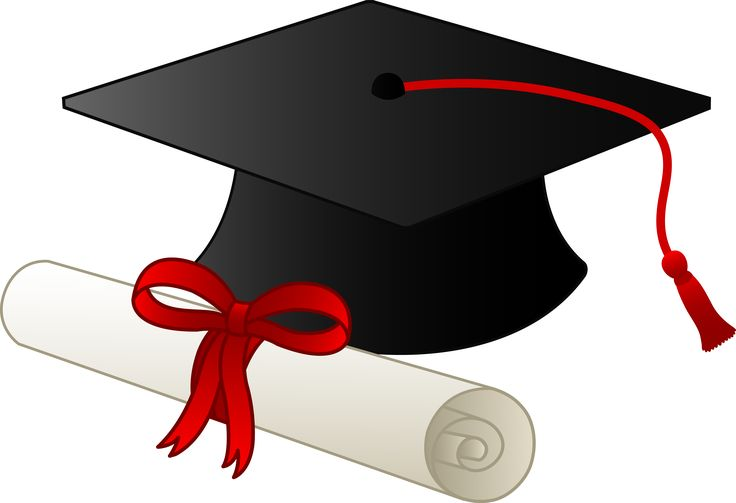 Graduation Cap And Scroll Clipart For Free 2046.