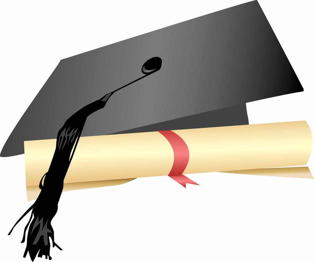 Graduation Cap And Scroll Clipart Tznlngc.