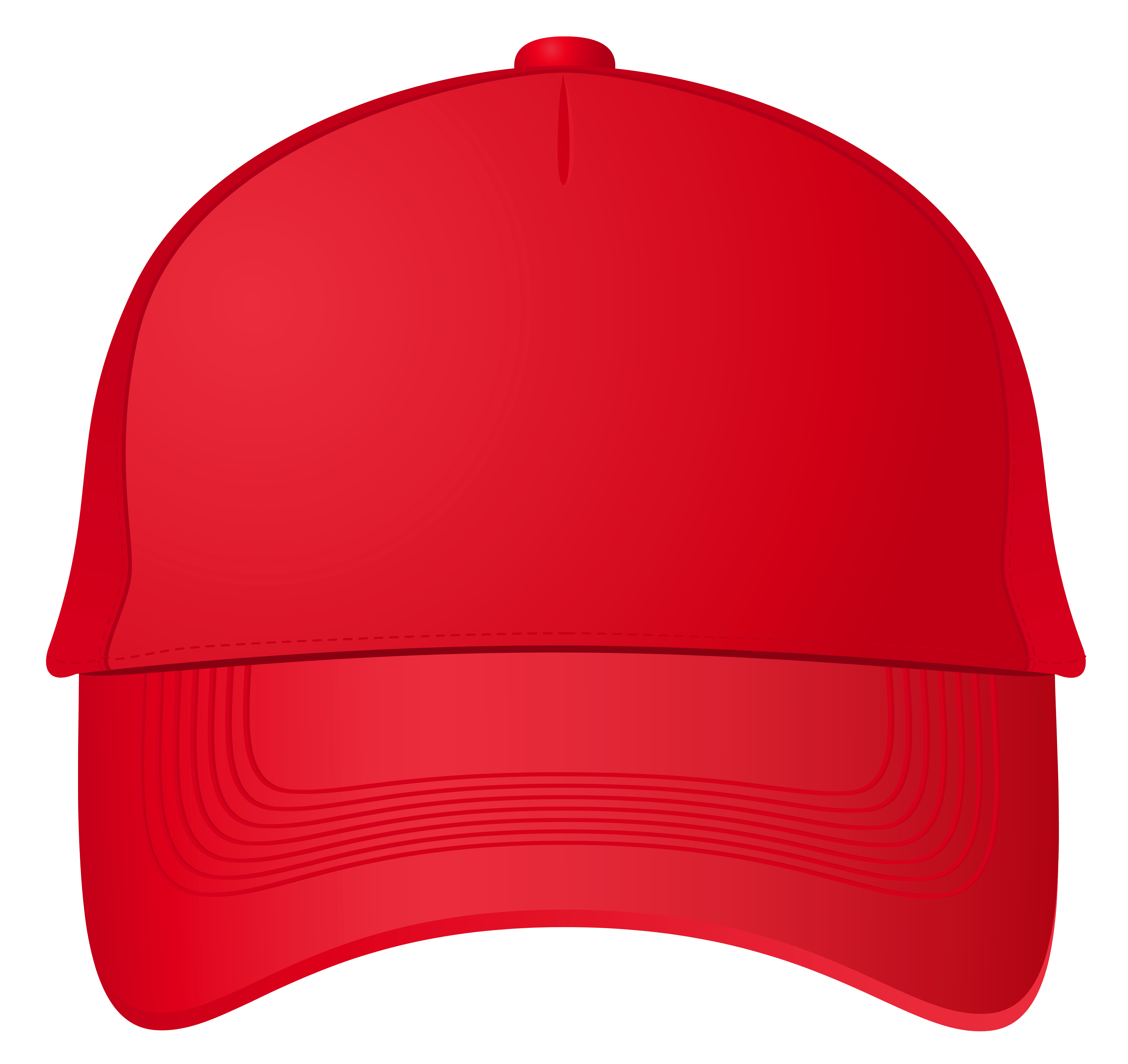 Baseball cap clipart front.