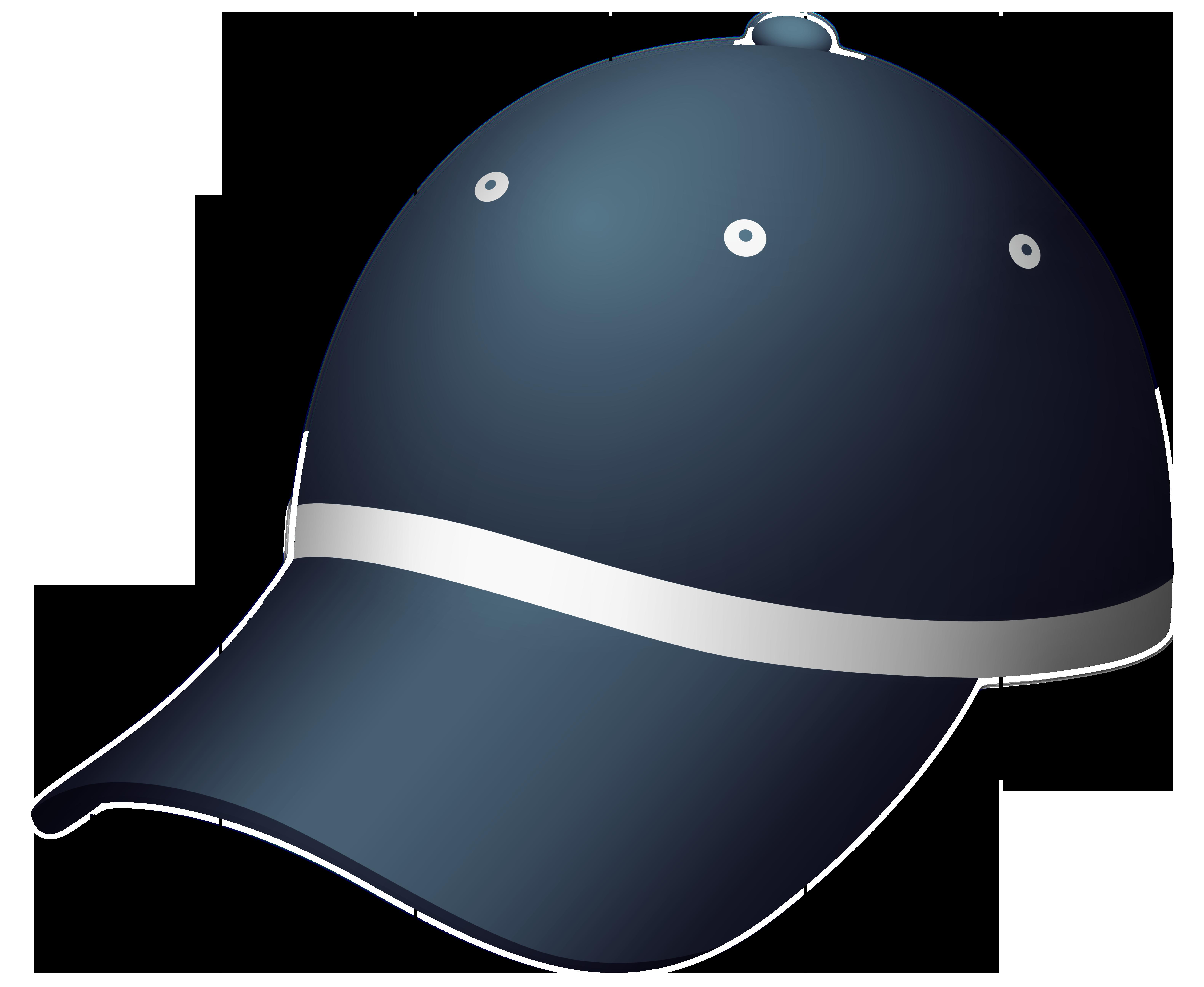 Navy Blue Cap PNG Clipart.