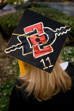 San Diego State Graduation Cap #Aztecs #GradCap #SDSU.