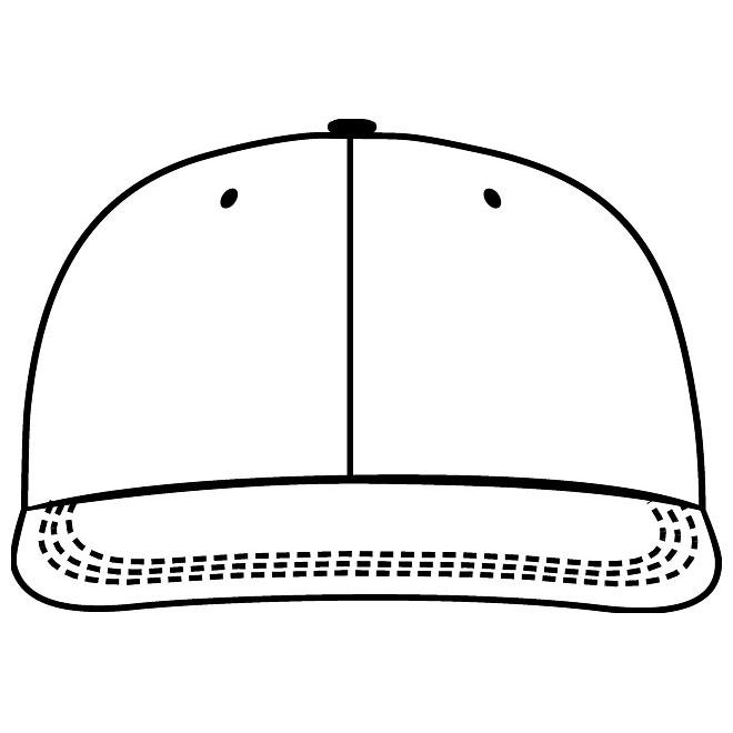 Baseball Cap Front Clipart.
