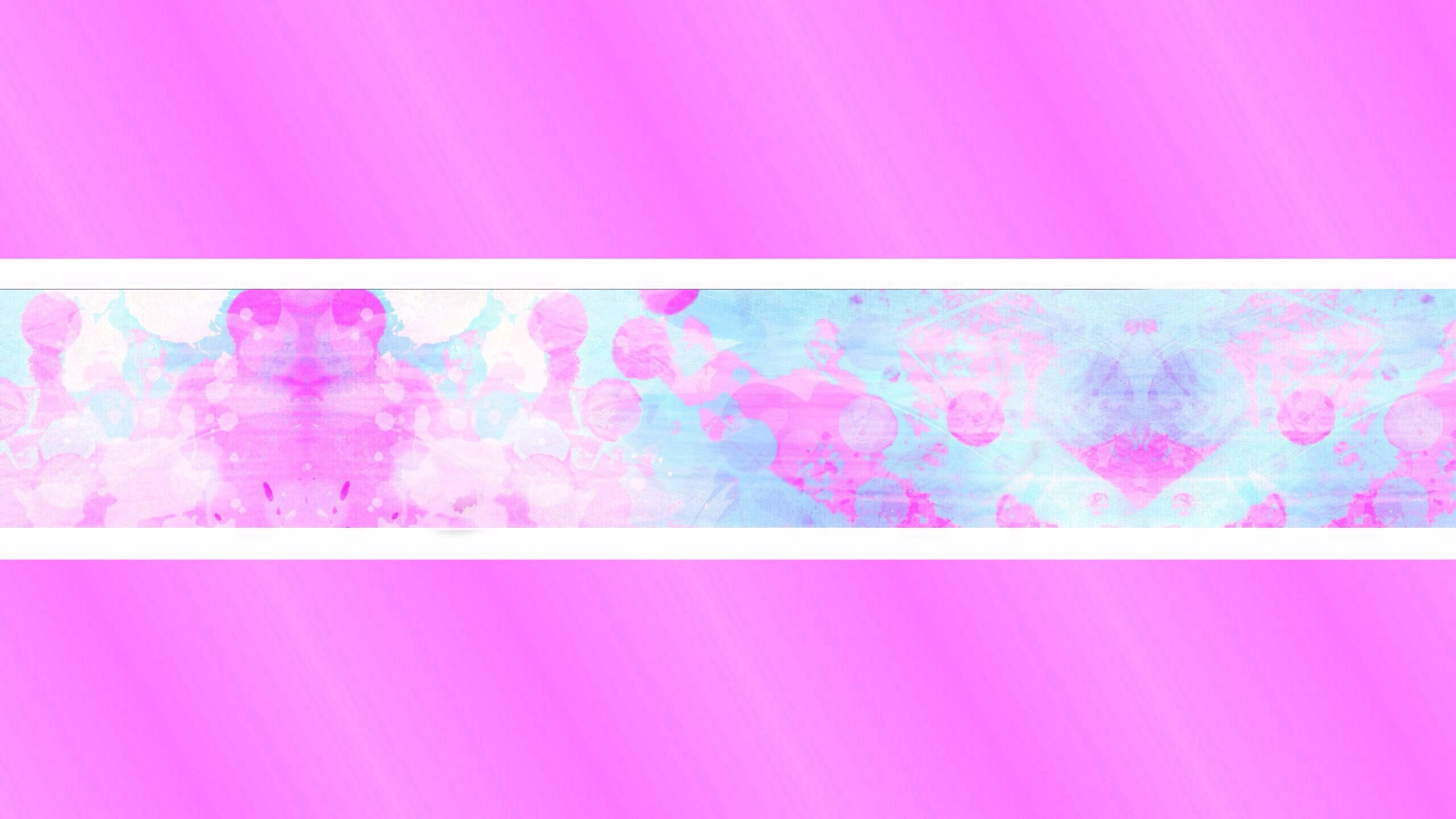 Pink/Blue Youtube Banner Template — imgbb.com in 2019.