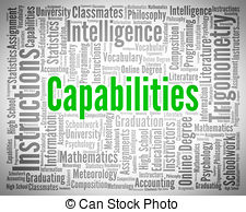 Capabilities word Illustrations and Clipart. 358 Capabilities word.