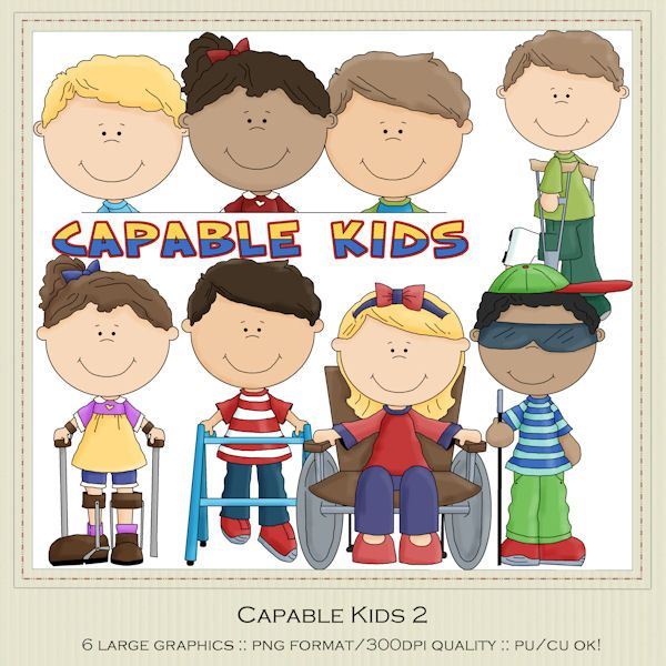 Capable Kids Disabilities Handicap.