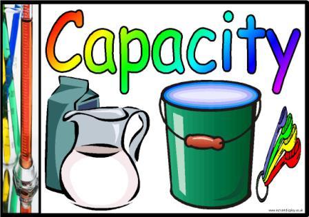 Capacity Clipart.