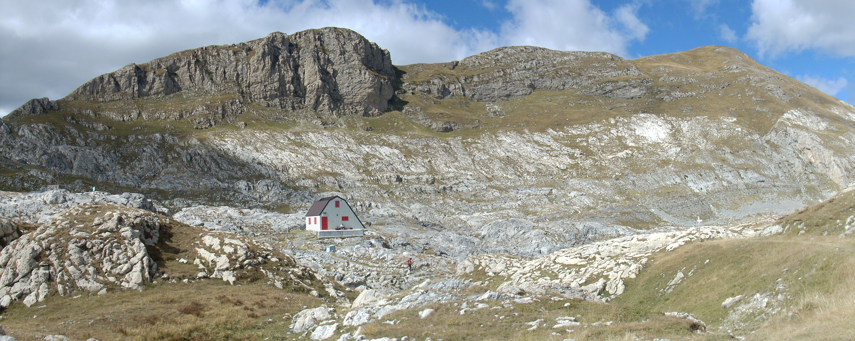 Capanna Speleologica Morgantini.